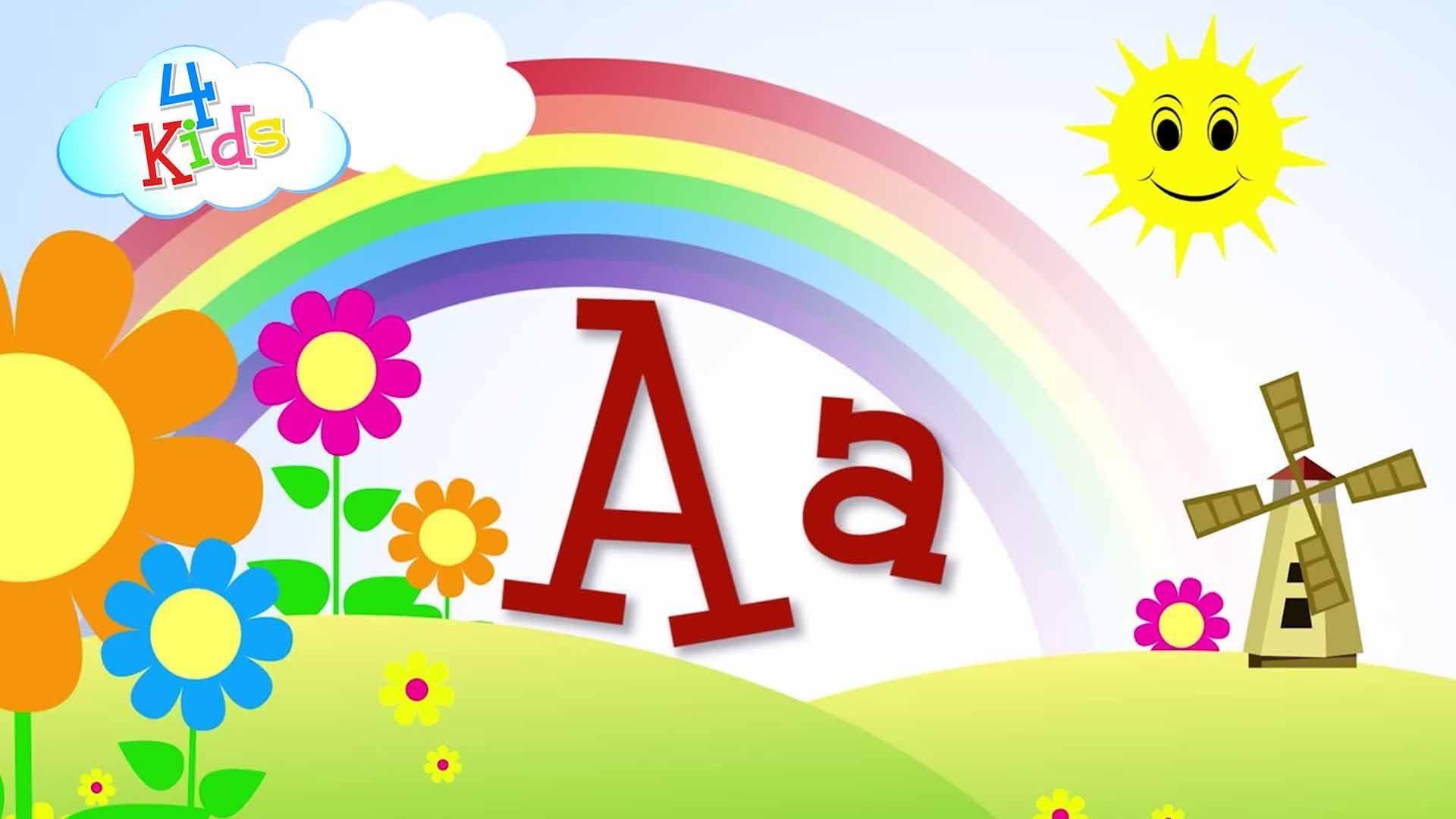 abcabc buchstaben lernen für kinder alphabet in groß