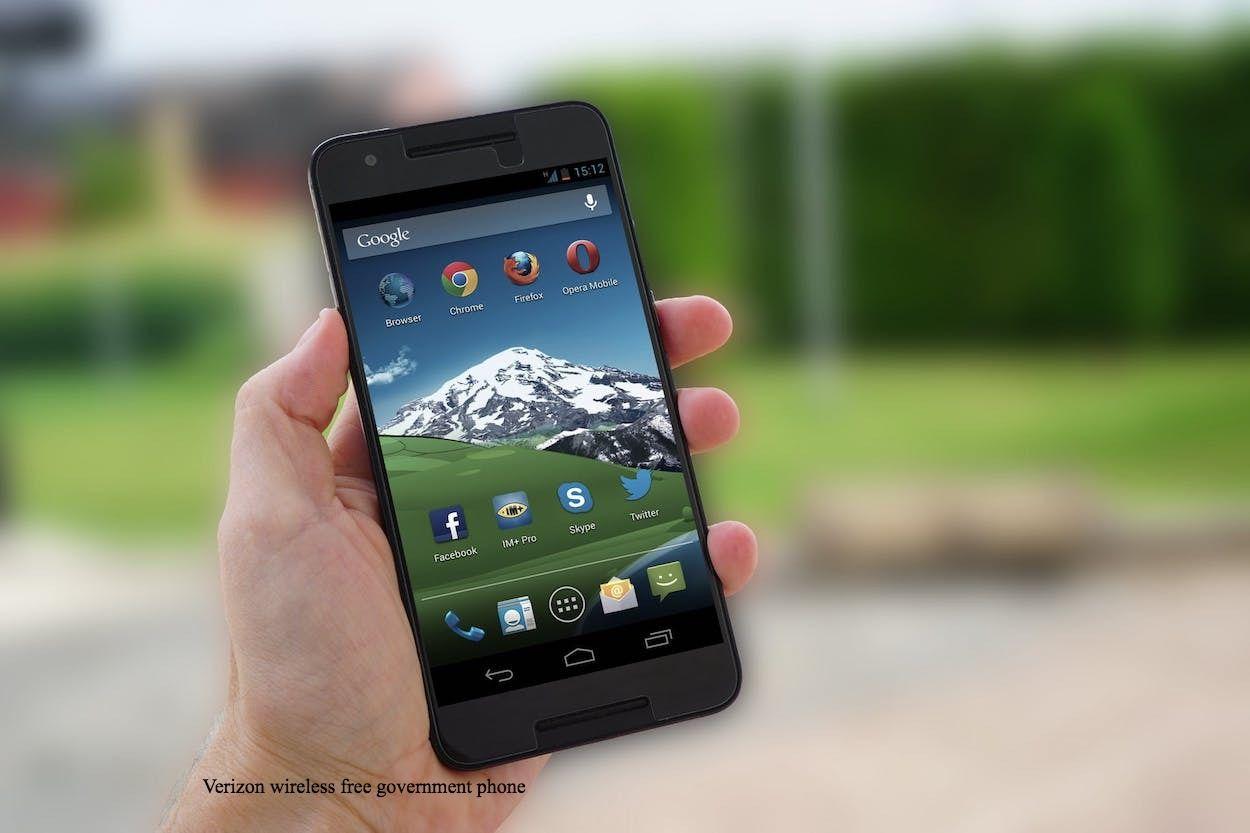 Top 5 Verizon Wireless Free Government Phone 2020 Prepaid Phones Free Government Phone Verizon Wireless