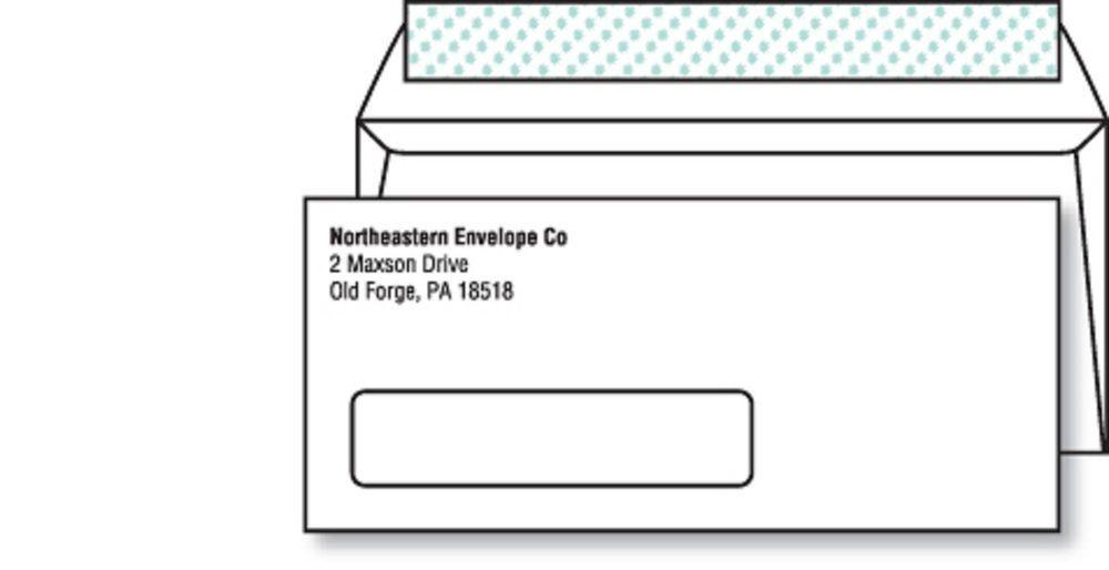 Custom printed no 10 envelopes peel seal 10000lot 24