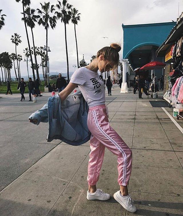 silk adidas tracksuit