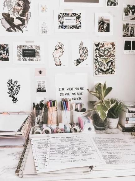 Diy Desk Decor Tumblr Room Decorations 57 Ideas Diy Pinterest