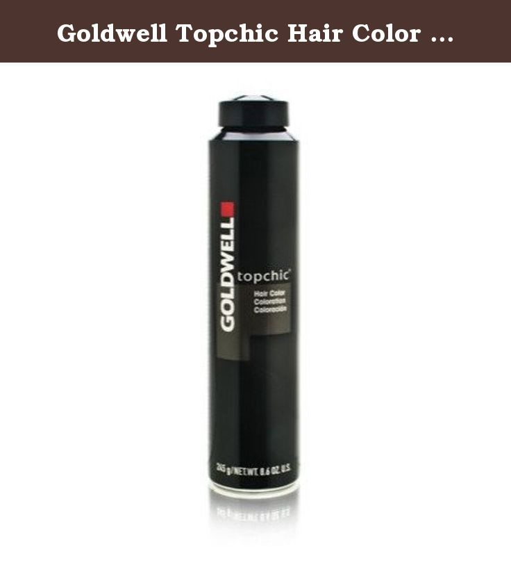 Goldwell Topchic Hair Color 5n 86 Oz Canister Goldwell By