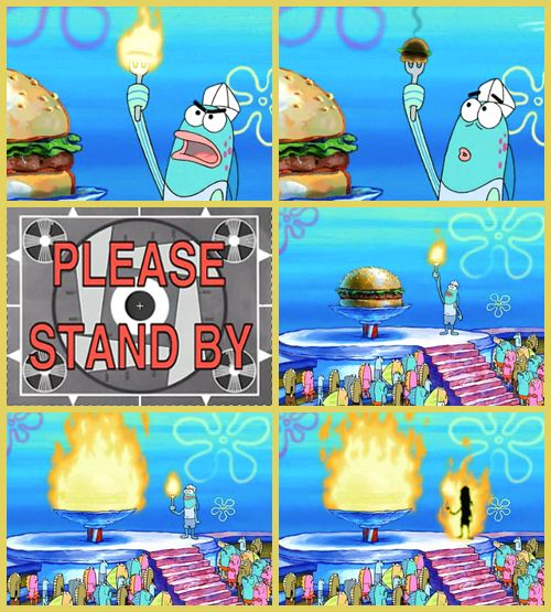 The Best Time To Wear A Striped Sweater Spongebob Funny