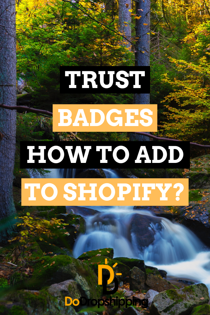 Learn How To Add Trust Badges To Your Shopify Store In 2020 Ecommerce Start Your Online Business With 14 Days Free T In 2020 Shopify Store Shopify Website Shopify