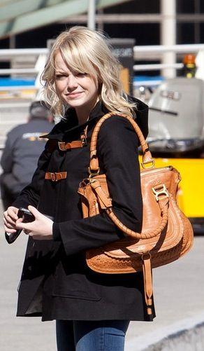 101c9327 chloe marcie bag - Google Search   Chloe Marcie   Emma stone style ...