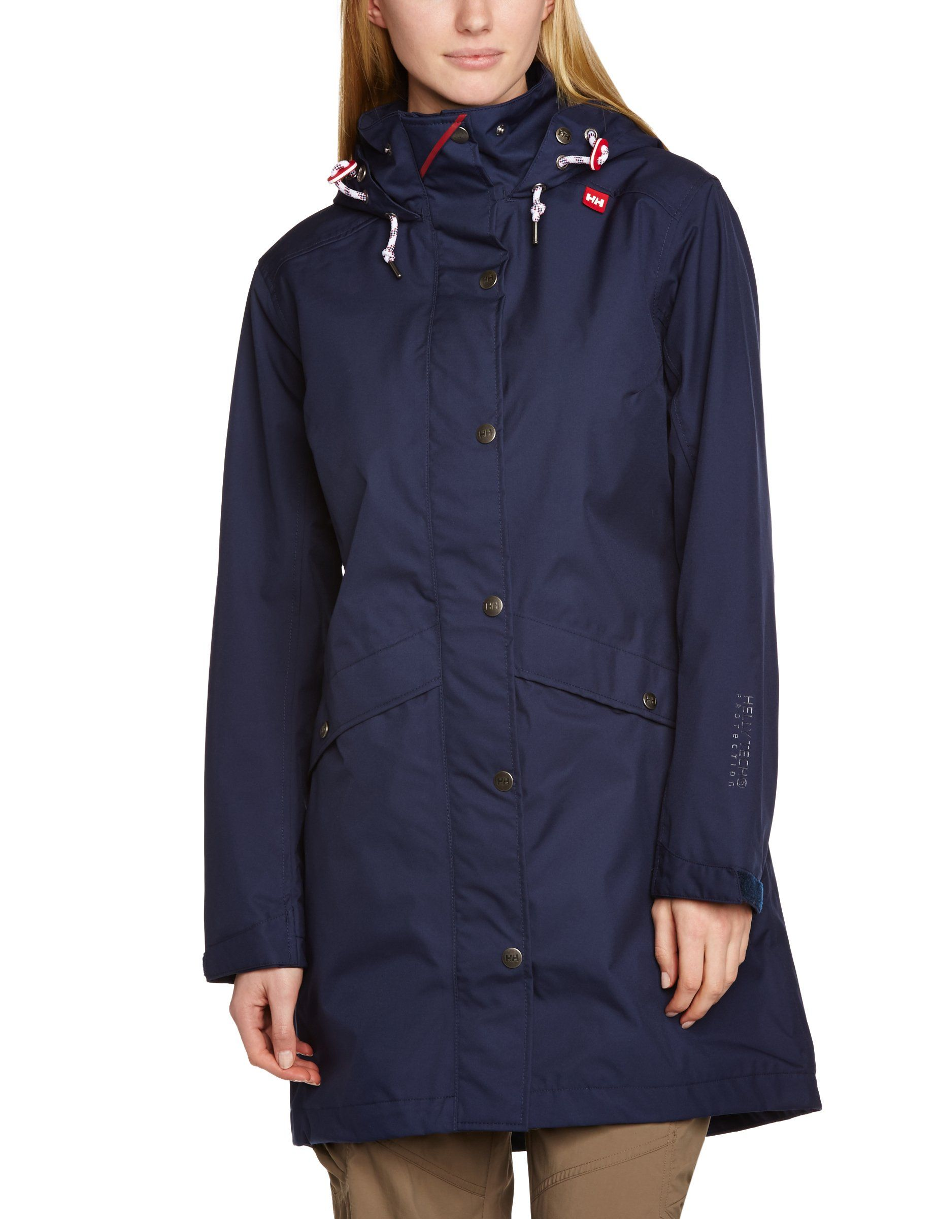 6d3b87ca8 Amazon.com: Helly Hansen Women's Blackrock Coat, Evening Blue, Medium:  Sports & Outdoors