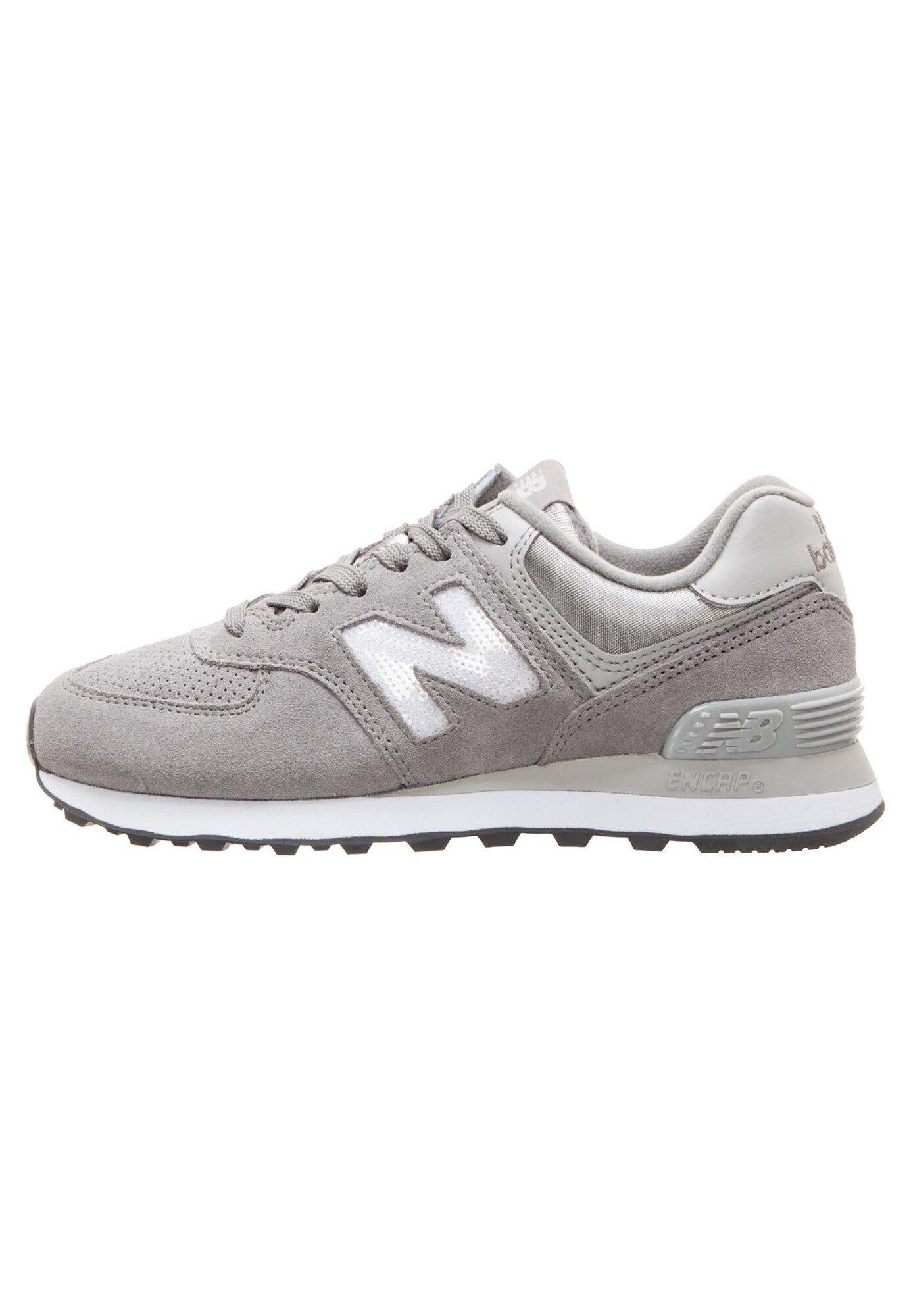 New Balance Sneaker 'WL574-FHC-B' Damen, Grau / Weiß, Größe ...