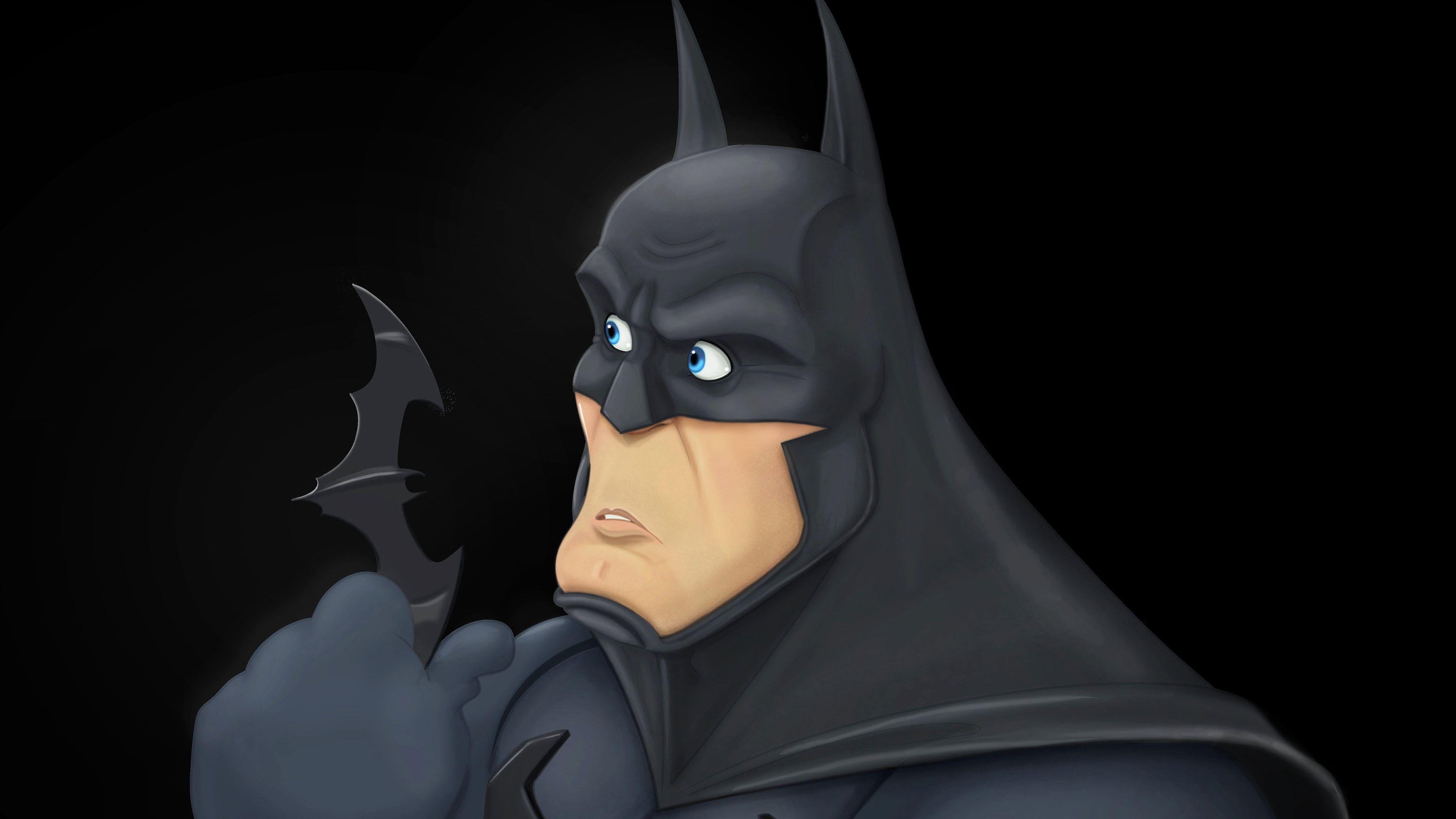 Batman With Batrage Art 4k Superheroes Wallpapers Hd Wallpapers