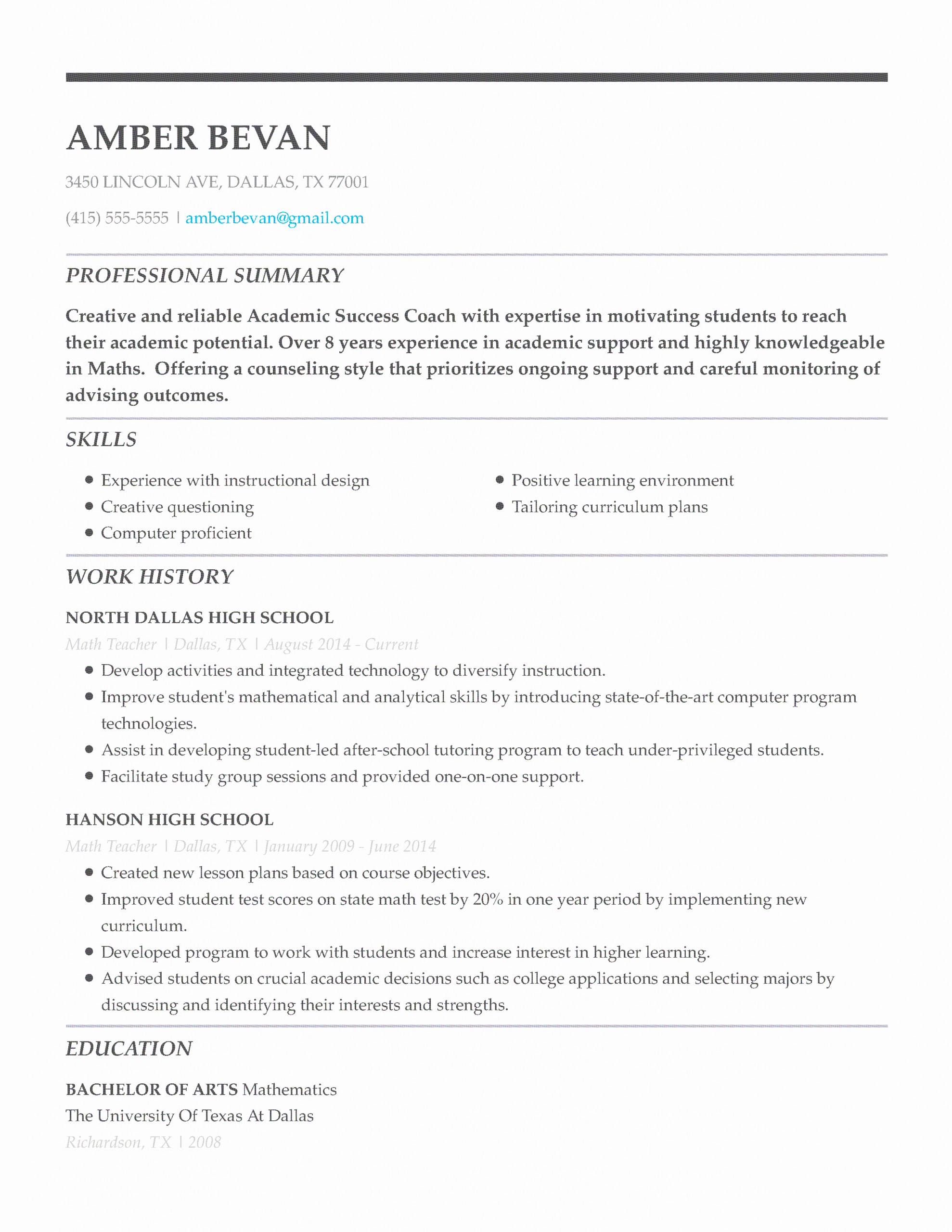 Resume Title Examples for Any Job Awesome 30 Resume