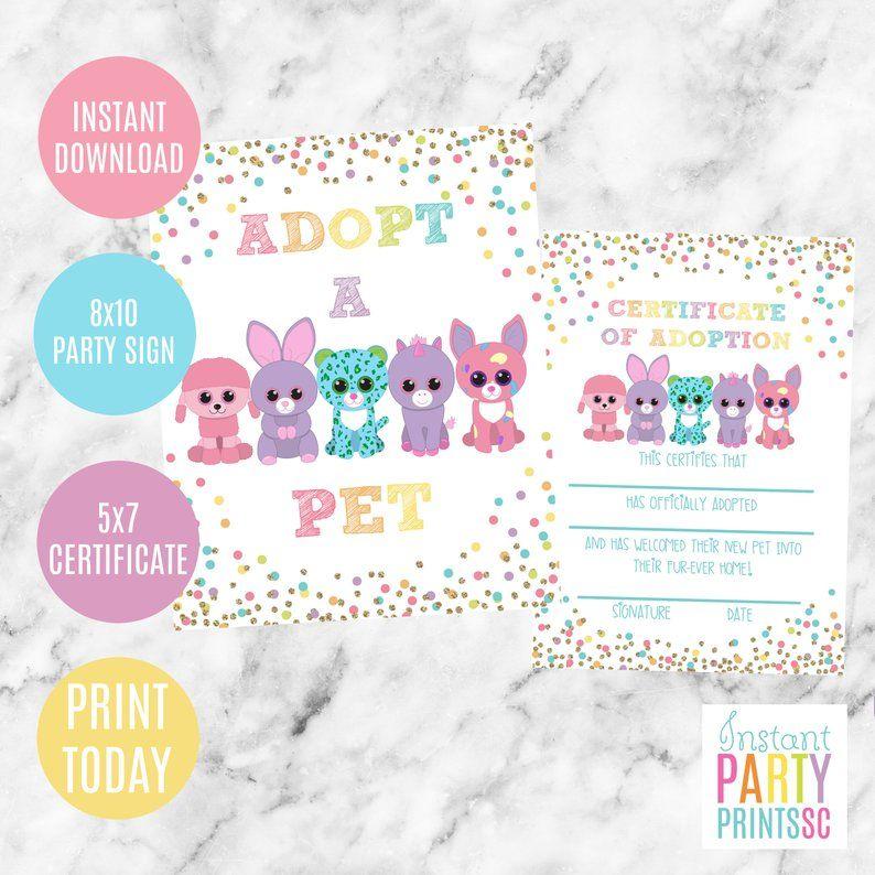 Pin On Pet Adoption Party Ideas