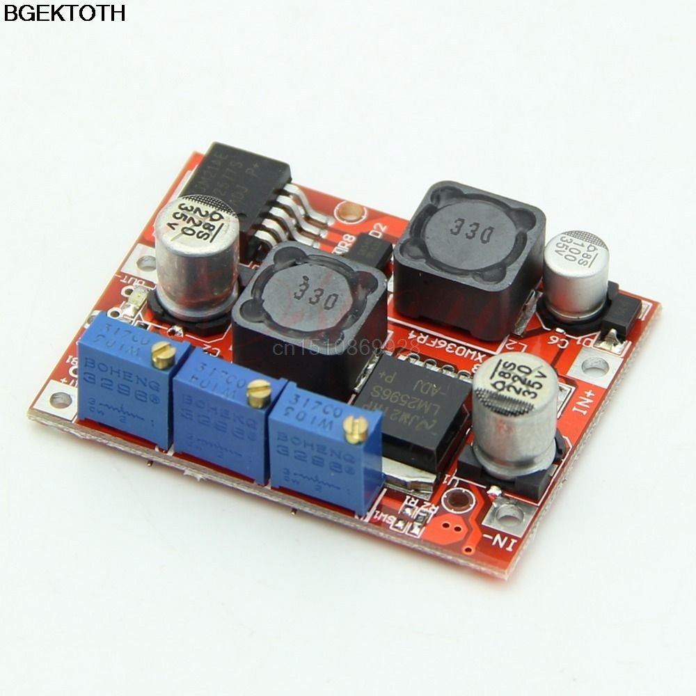 LM2577S LM2596S DC-DC Step Up Down Boost Buck Voltage Power Converter Module UK