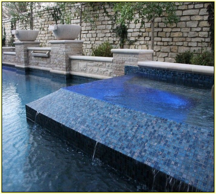 Glass pool tile pool pinterest glass pool tile for Pool design tiles