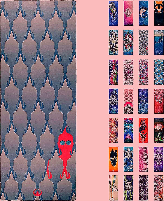 Soul Obsession Printed Yoga Mat, Prana Yoga Mat, Bikram Yoga Mat – Incredibly Comfortable Yoga Mats...