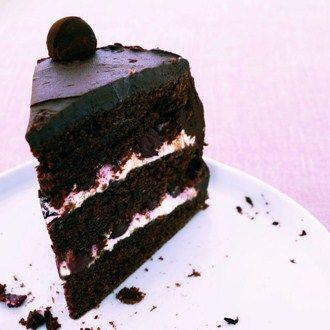 Chocolate Cherry Cake Chocolate cherry cake Cherry cake recipe