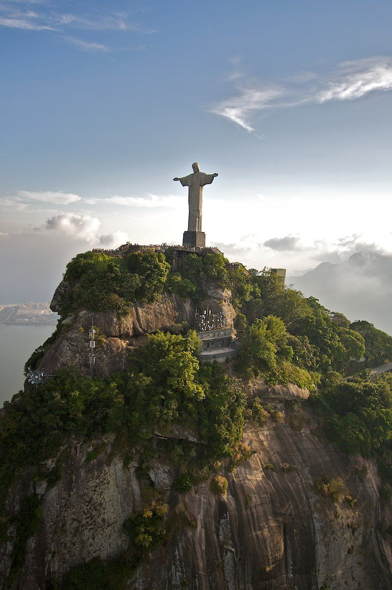 Corcovado Cristo Redentor Rio De Janeiro Places To Travel Wonders Of The World Places To Go