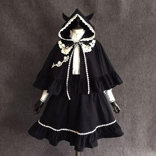 New Lolita Dress lolita shawl cap / skirt