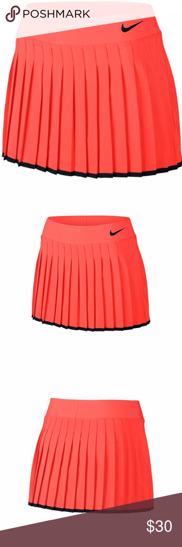 Nikecourt Premier 13 Inches Victory Tennis Skirt Nwt Tennis Skirt Womens Tennis Skirts Orange Fashion