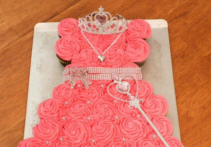 Princess Cupcake Cake Easter In 2018 Pinterest Cake Cupcakes