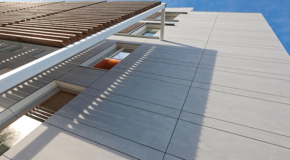 Pin de sistemas de fachadas en galeria de fotos de nuestros productos fachadas fibrocemento y - Paneles de fibrocemento ...
