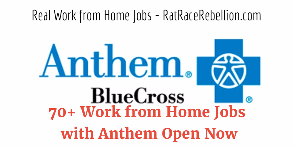 70+ Work from Home Jobs with Anthem Open Now   Work from ...