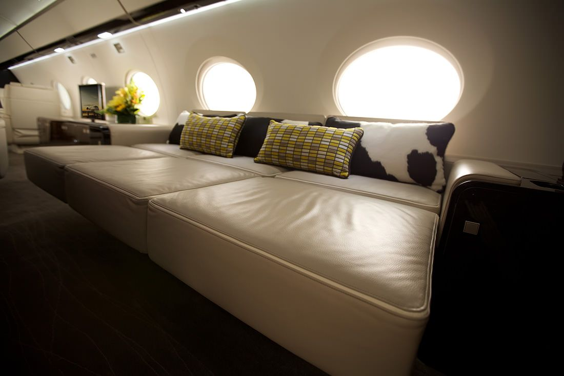 The new Gulfstream G650ER: an ultra-long-range aircraft - to discover : www.themilliardaire.co