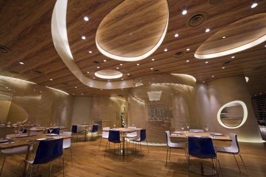 Restaurant Interior Designs Ceiling
