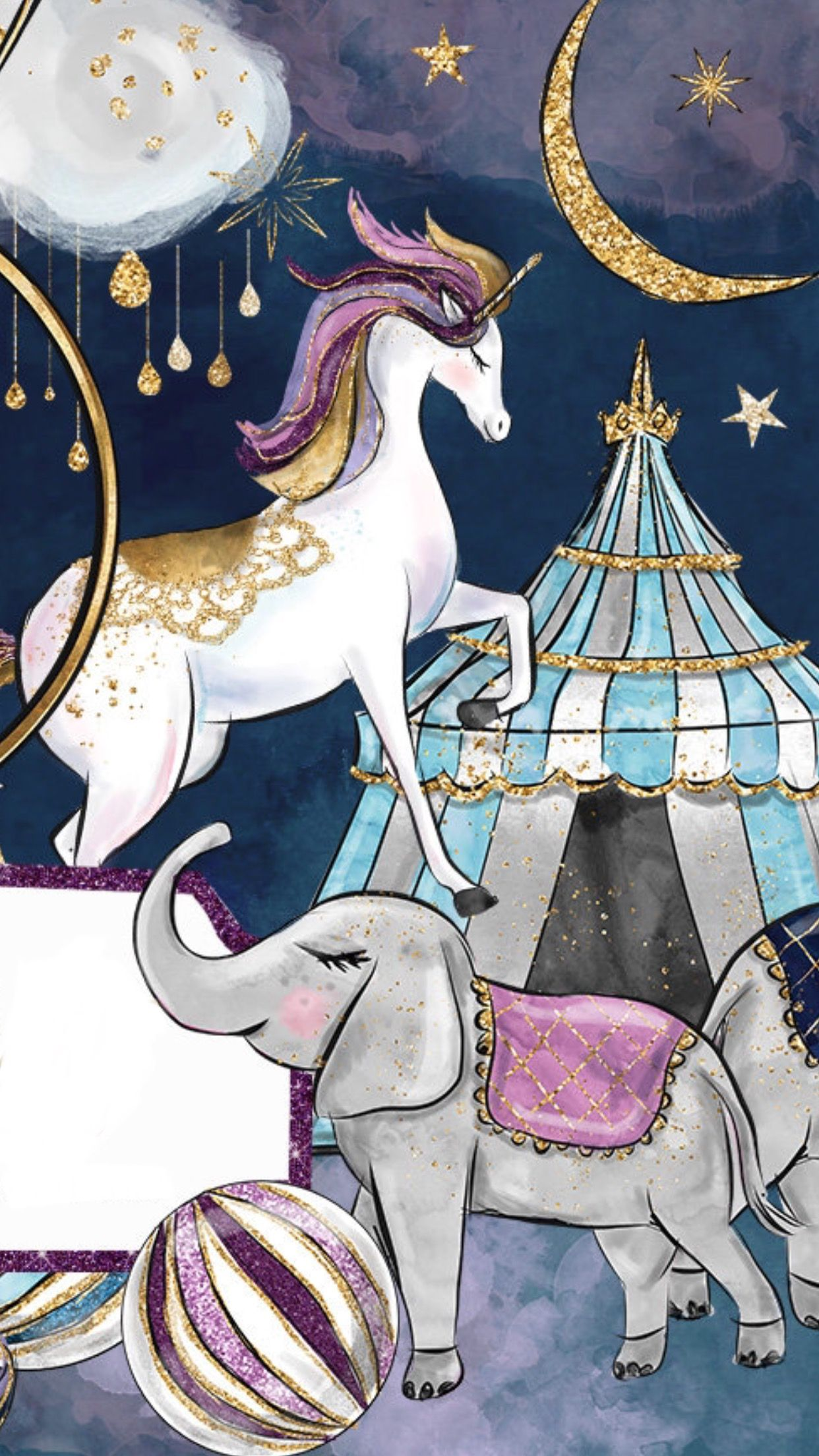La magia del Circo | Ilustración de unicornio, Dibujos, Fondos de ...