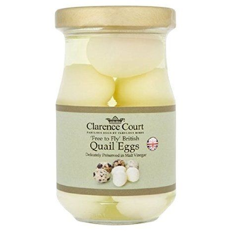 Clarence Court Quail Eggs 190g - Pack of 2