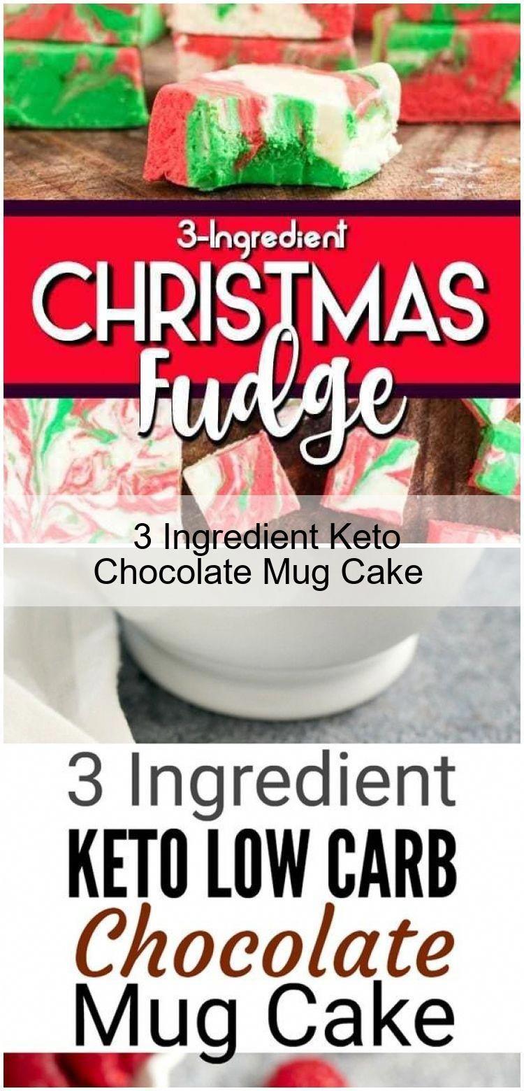 3 ingredient keto chocolate mug cake 3ingredientmugcake