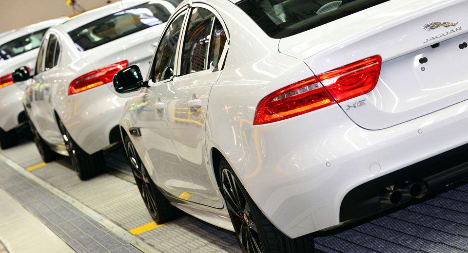 Jaguar Shifts Xe Production To Birmingham Facility To Cater For Increased Demand Jaguar Xe Jaguar Cars Uk
