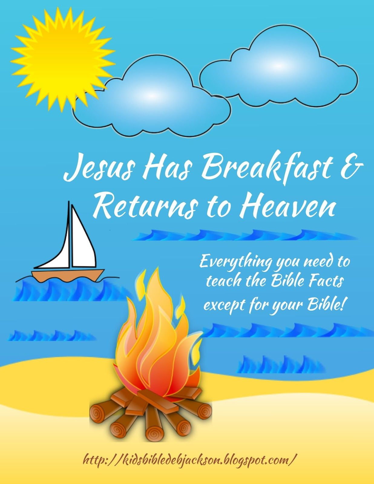 Jesus Has Breakfast With His Disciples Amp Returns To Heaven