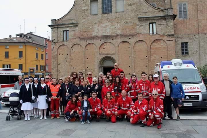15 Giugno: La Croce Rossa Italiana festeggia 151 anni di attività al servizio di chi soffre. I volontari del Comitato provinciale di Parma.