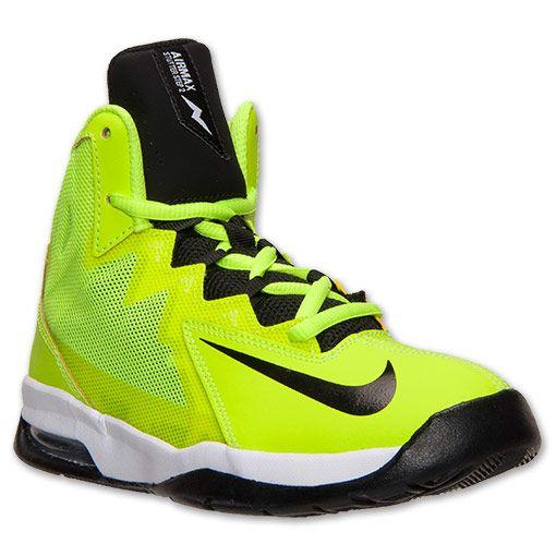 Nike Air Max Mens Bégayer Étape 2 Mi Chaussures De Basket-ball