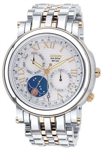Citizen Eco-Drive Moon Phase Japan Sapphire Gent's Watch