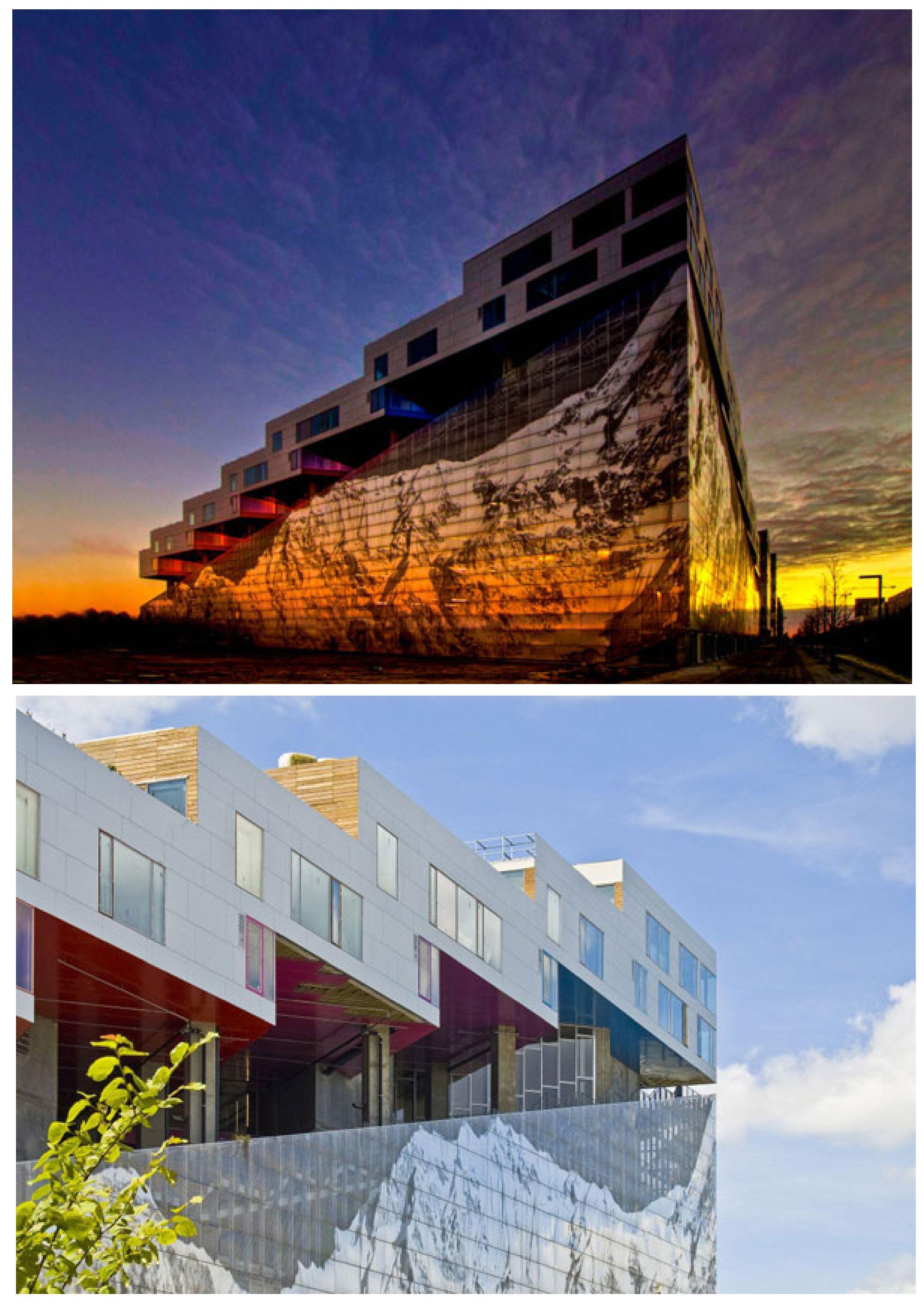 Mountain Architects Hendricks: Bjarke Ingels Group + JDS