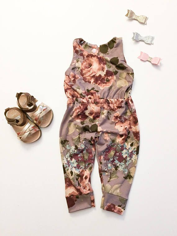 Infant Girl Romper