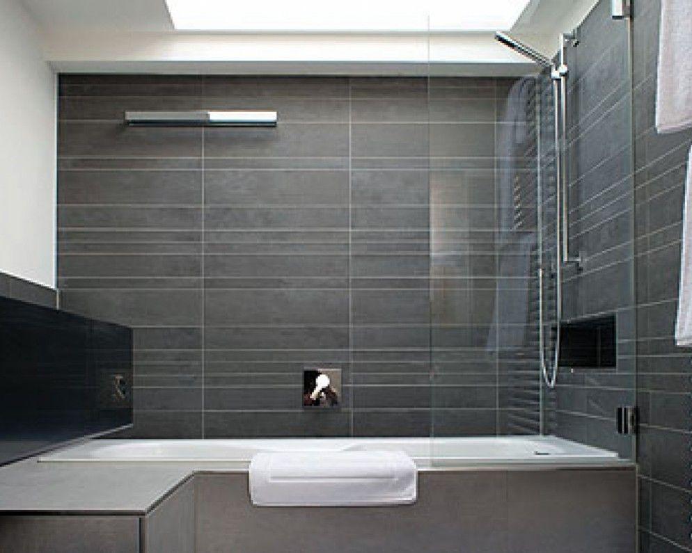 32 Good Ideas And Pictures Of Modern Bathroom Tiles Texture Hotel Bathroom Design Narrow Bathroom Designs Modern Bathroom