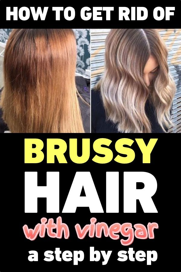 How To Get Rid Of Brassy Hair With Vinegar A Step By Step Guide