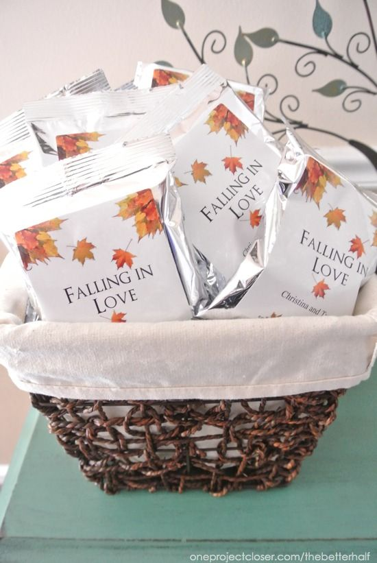 fall bridal shower ideas pumpkins and jars falling in love theme