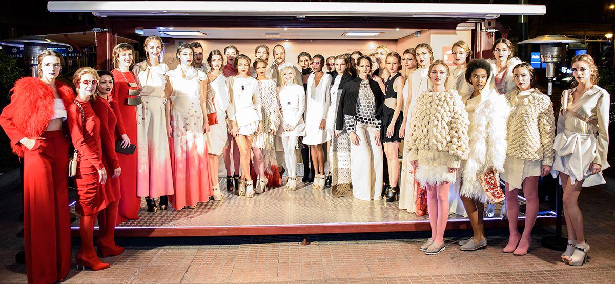 Nomada, lana km 0 made in Spain, llega a la pasarela Madrid Fashion Week gracias a los dise�os de Mar�a Lafuente | http://www.katia.com/blog/es/nomada-katia-fashion-week-madrid-maria-lafuente/