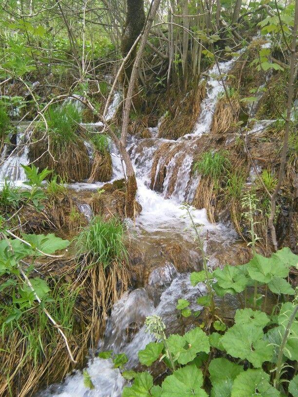 Plitvička Jezera, Croatia Croatia, Outdoor, Waterfall
