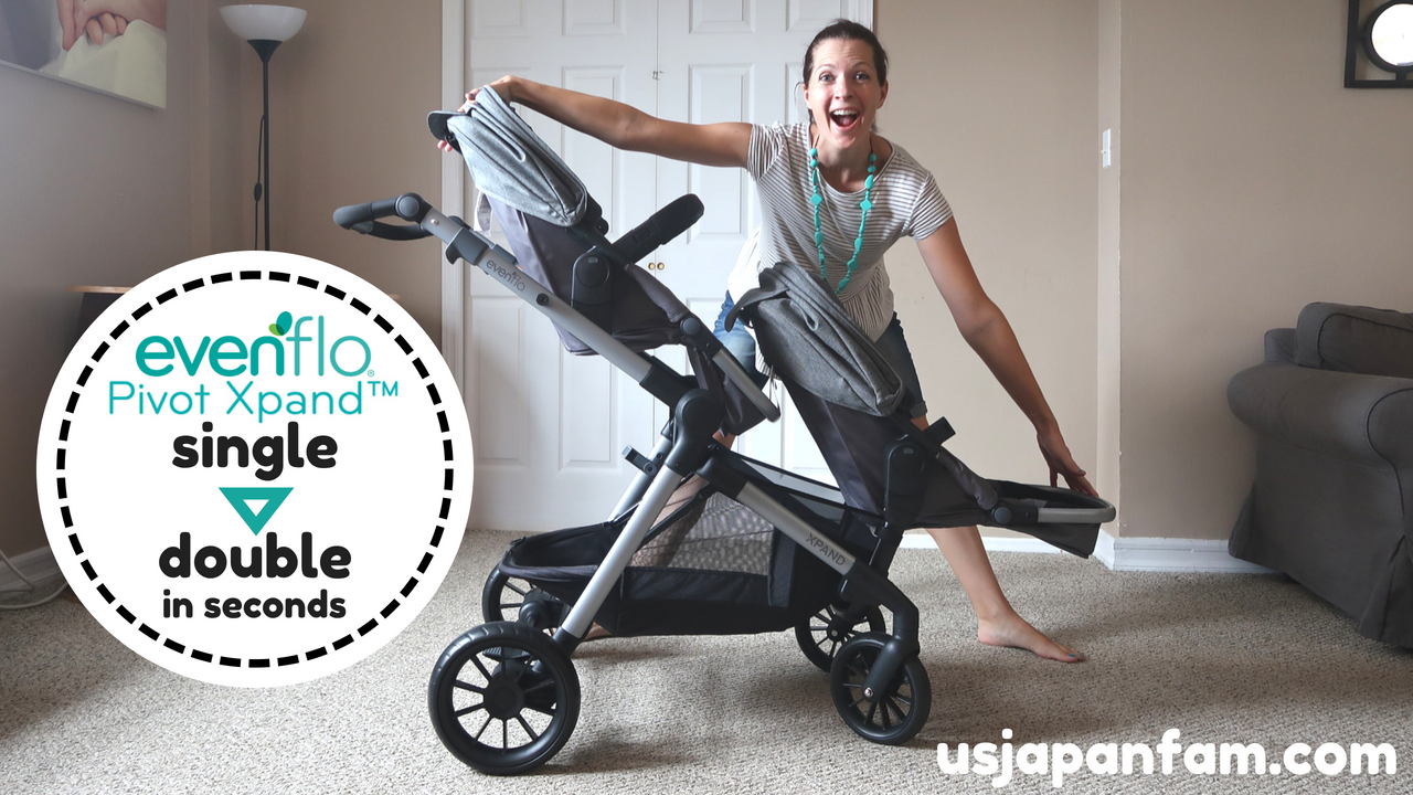 US Japan Fam reviews evenflobaby Pivot Xpand Single to