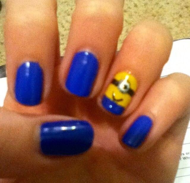 Despicable Me nail art | Despicable Me Nail art | Pinterest