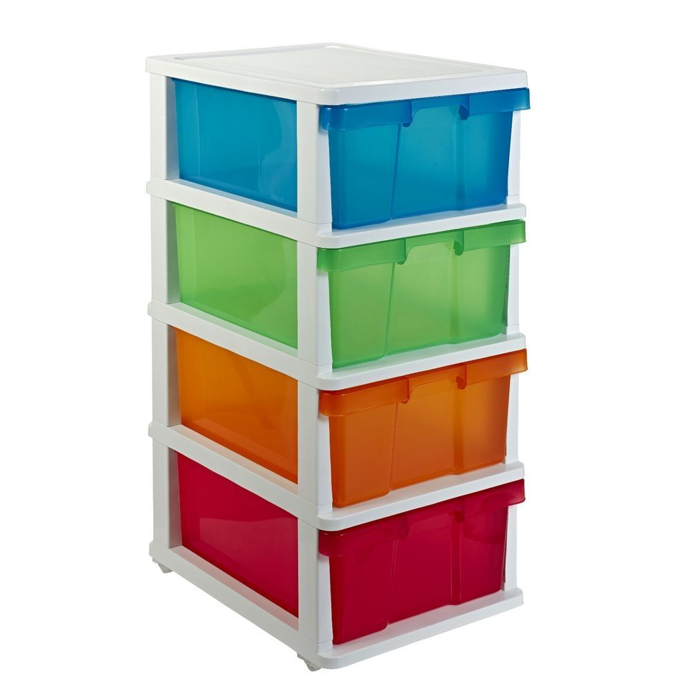 Big W Plastic Storage Drawers