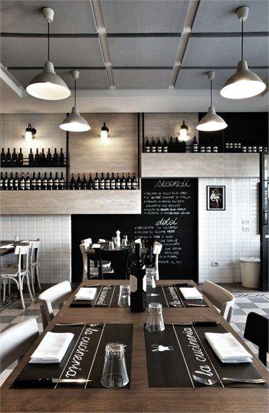 La Cucineria Rome 2012 Noses Architects Restaurant Interior Design Interiorer Restaurangdesign