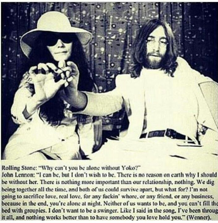 john lennon and yoko ono love this quote on love