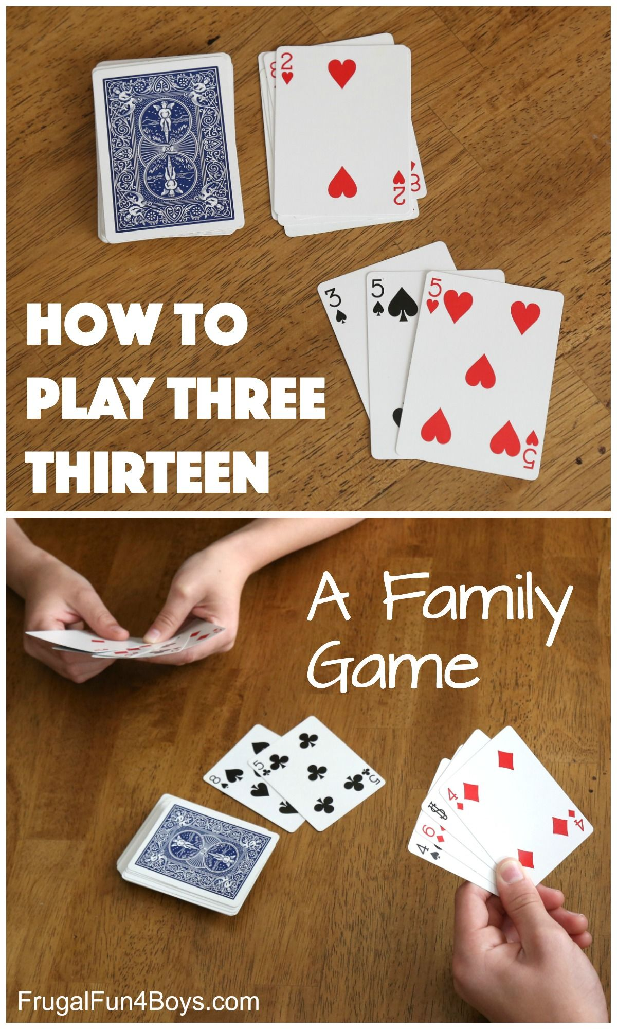 How to learn to play cards
