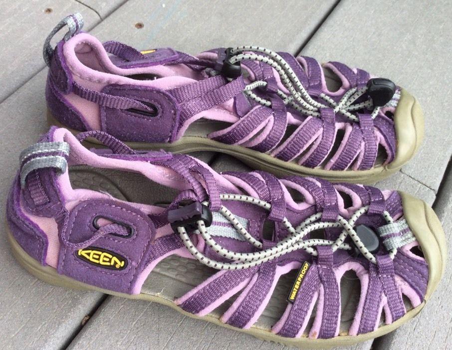25a7a2c985e0 Keen Whisper Sandals 2 Big Girls Purple Sport Shoes  KEEN  Sandals ...