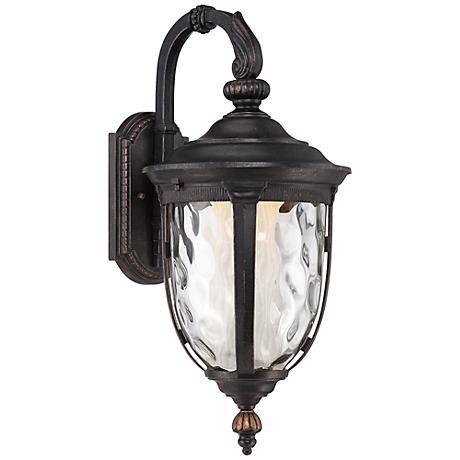 Bellagio™ 20 1/2 H LED Veranda Bronze Outdoor Wall Light  sc 1 st  Pinterest & Bellagio™ 20 1/2