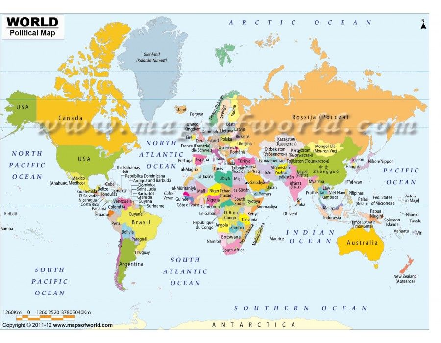 Map Of The World With Names Shop World Map with Countries in Native Names in 2020 | World map